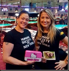 Kim Meyer & I - Humane Society of NY Fundraiser
